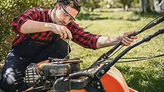 Lawn and garden equipment maintenance