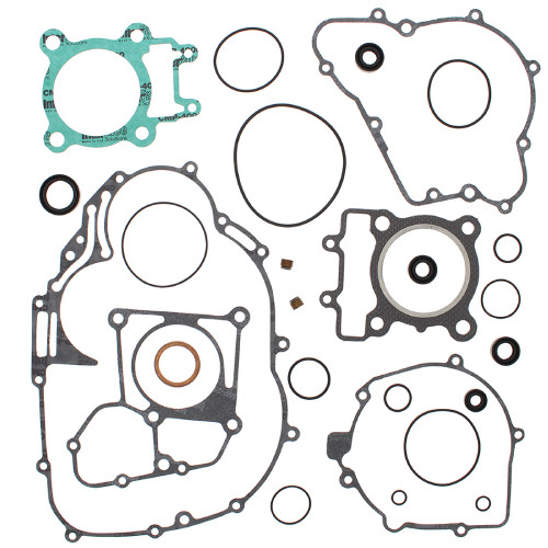 Complete Gasket Kit w/ Oil Seals For Kawasaki KLF250 Bayou