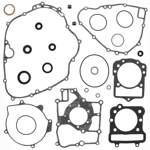 Complete Gasket Kit w/ Oil Seals For Kawasaki KEF300