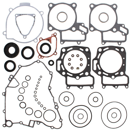 Complete Gasket Kit with Oil Seals for Kawasaki KVF750