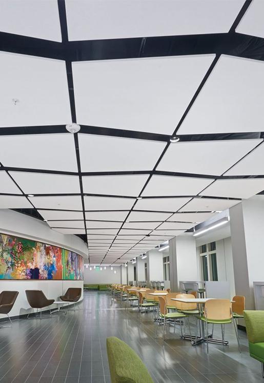 Mineral Fiber & Fiberglass Ceiling Tiles