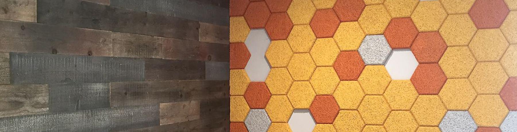 Acoustical Walls - Tectum Fiber Wall Panels