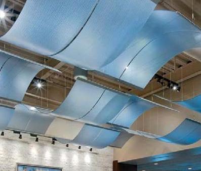 Translucent Ceiling Tiles