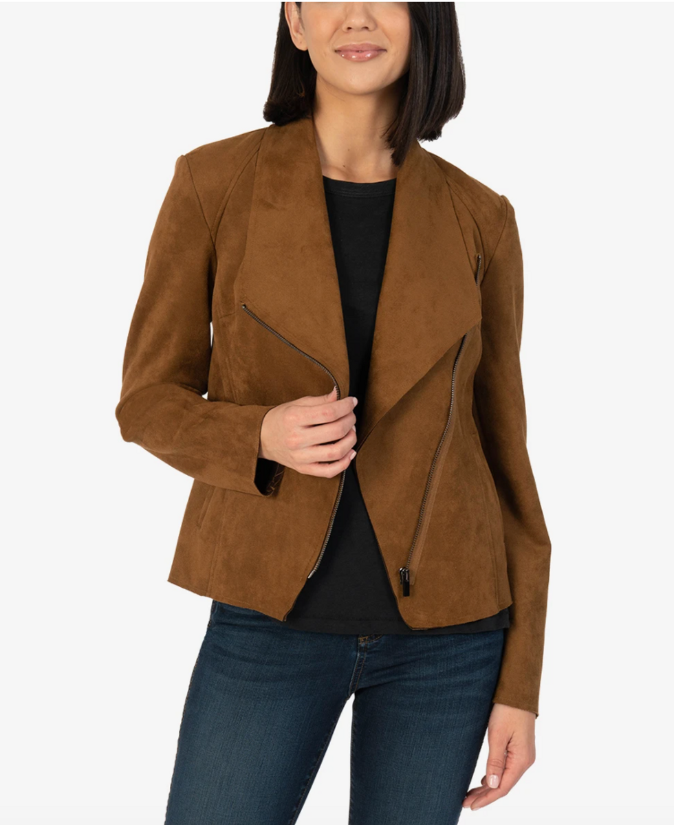 CARINA FAUX SUEDE JACKET