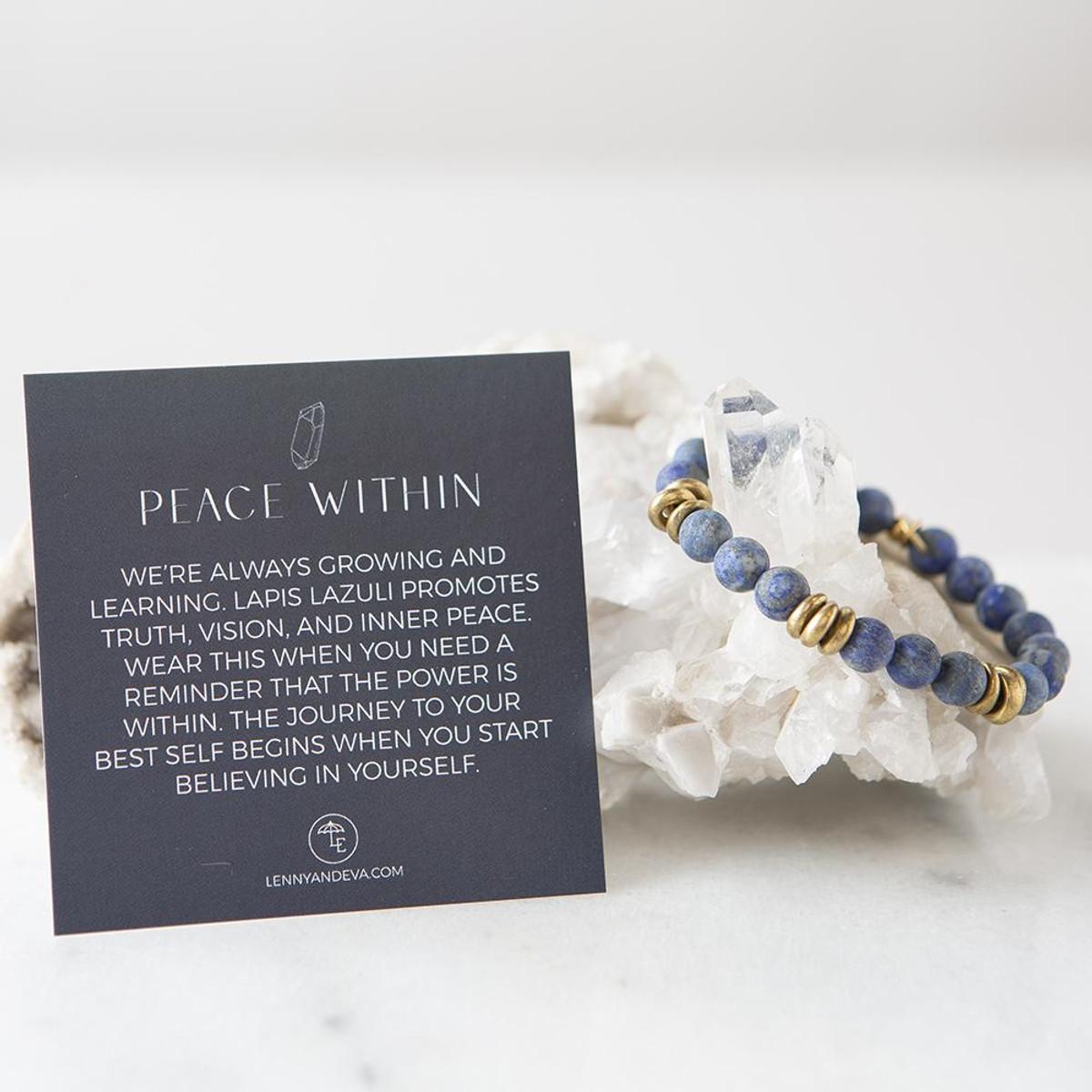 Lapis Lazuli Gemstone Stretch Bracelets   8mm