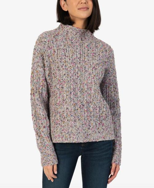 Adah High Neck Sweater