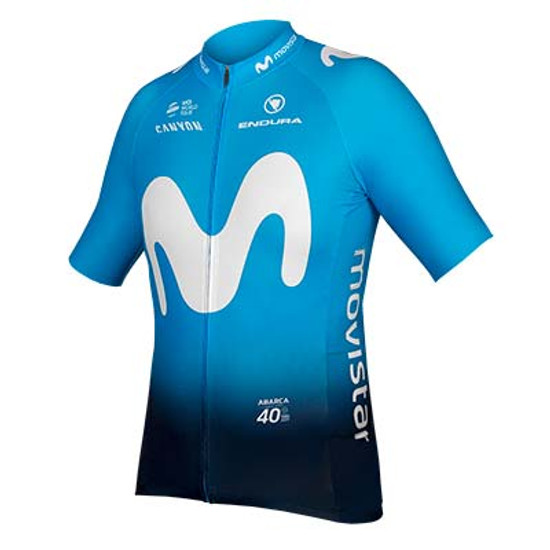 Movistar Short Sleeve 2019 Jersey