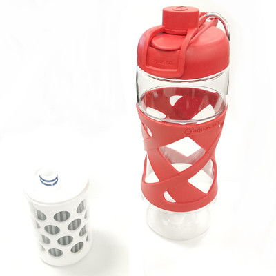Aquasana Filter Bottle in Red