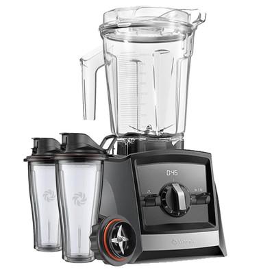 Vitamix Ascent 2300i Series Blender In Grey with 600ml Blending Cup Starter Kit
