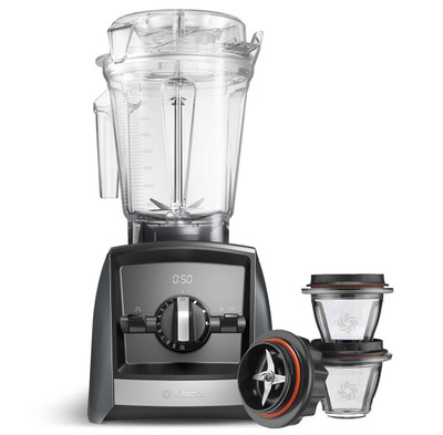 Vitamix Ascent 2500i Series Blender in Grey with 225ml Blending Bowl Starter Kit