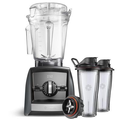 Vitamix Ascent 2500i Series Blender in Grey with 600ml Blending Cup Starter Kit