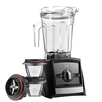Vitamix Ascent 2300i Series Blender In Black with 225ml Blending Bowl Starter Kit