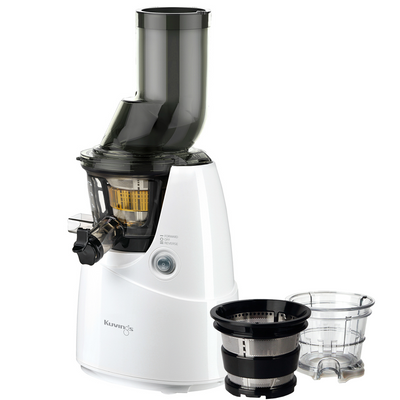 Kuvings Whole Slow Juicer White B6000W Plus Accessory Pack