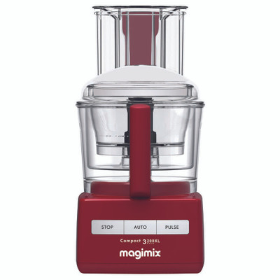 Magimix 3200XL Compact Food Processor in Red