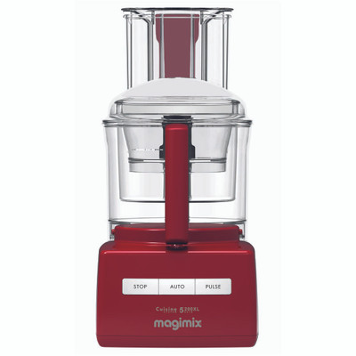 Magimix 5200XL Cuisine Food Processor in Red