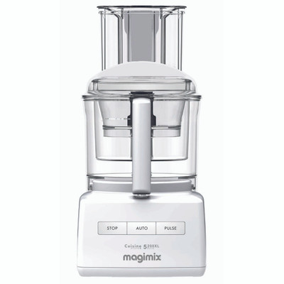 Magimix 5200XL Premium Food Processor in White