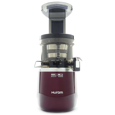 Hurom H-AE Alpha+ Slow Juicer in Burgundy Red