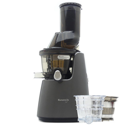 Kuvings C9500 Wide Feed Juicer in Glossy Gunmetal with Accessory Pack