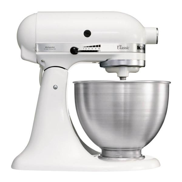 KitchenAid 4.3L Classic Stand Mixer in White