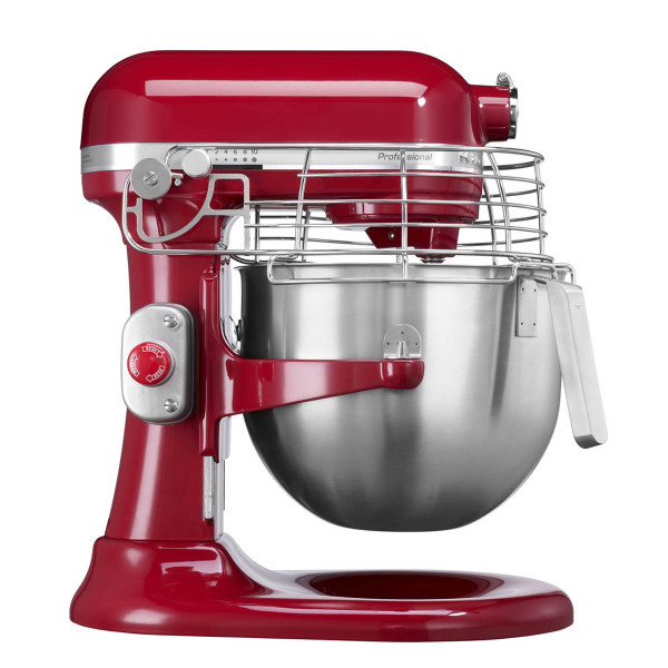 6.9 L Professional Stand Mixer in Red