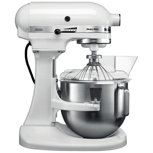 KitchenAid 4.8 L Heavy Duty Stand Mixer in White