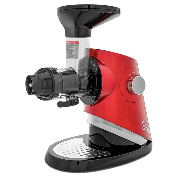 Sana Supreme 727 Horizontal Slow Juicer in Red