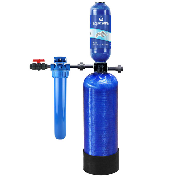 Aquasana Rhino EQ-500 Whole House Water Filtration System Well System