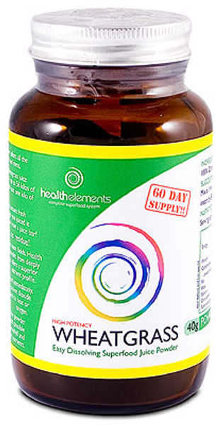 Health Elements Wheatgrass Juice powder