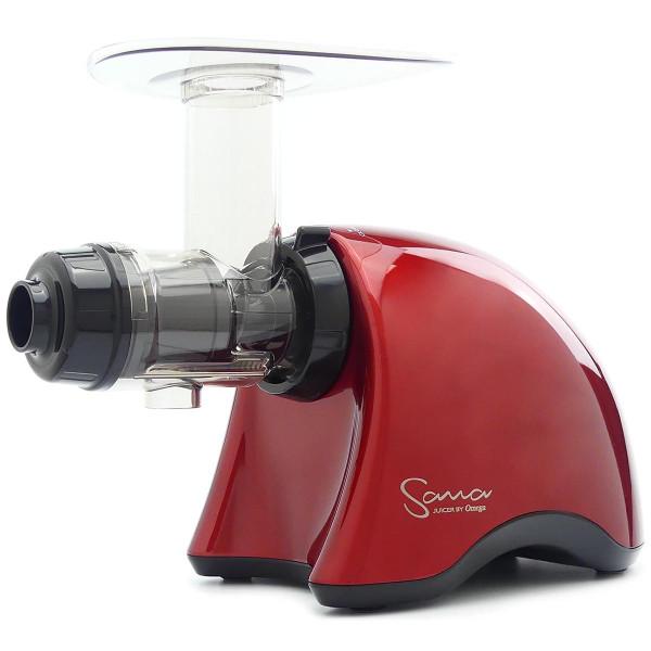 Omega Sana EUJ-707R Juicer in Red