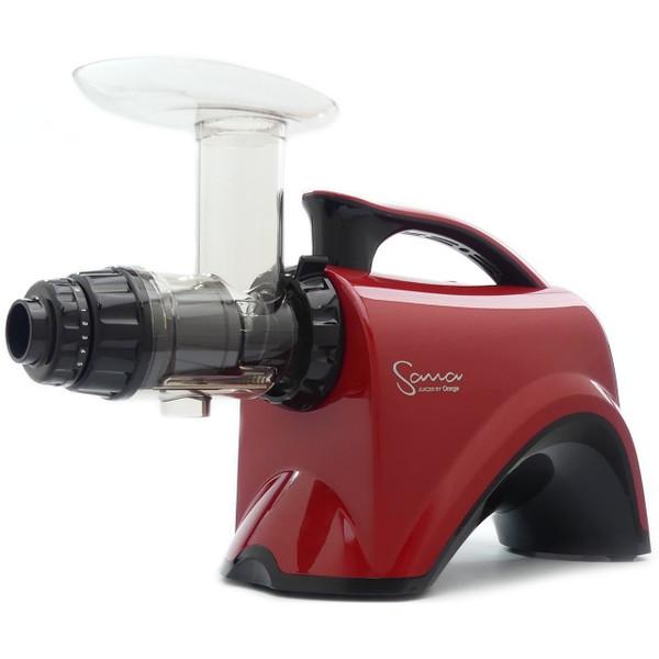 Omega Sana EUJ-606R Juicer in Red