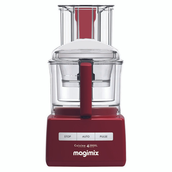 Magimix 4200XL Cuisine Food Processor in Red