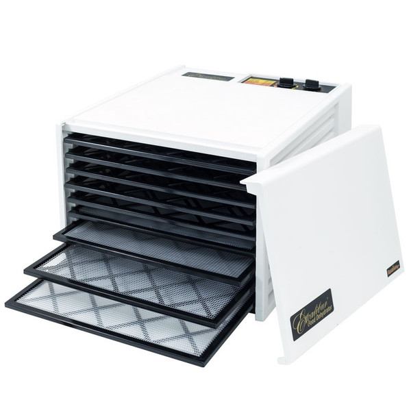 Excalibur 9-Tray Dehydrator With 26hr Timer White