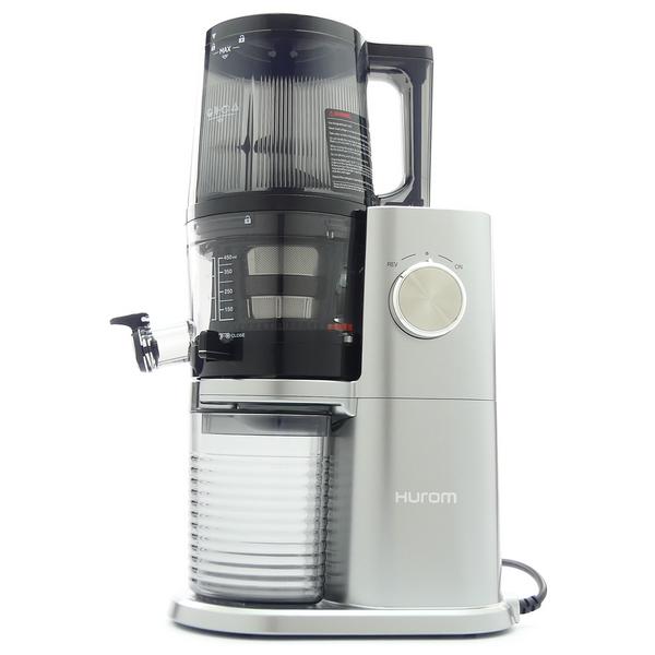 Hurom H-AI Self-Feeding Juicer in Platinum Silver
