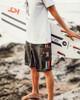 Classic Black Rasta Boardshorts Surfer