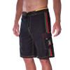 Classic Black Rasta Boardshorts