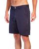 Navy Slim Stretch Cotton Walkshorts