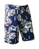 Island Floral Men's Boardshort Front