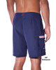 """Lifeguard Uniform Navy Blue Microfiber 19"""" or 21"""" Outseam With Lifeguard Patch"""