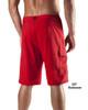"Lifeguard Uniform Boardshort Microfiber Red 19"" - 21"""