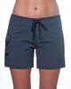 """Ebony 5"""" Women's Boardshort Front"""
