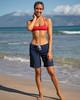 """Navy 9"""" Women's Boardshorts"""