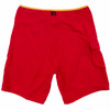 "Hawaiian Lifeguard Uniform Men's 19"" Red and Yellow Boardshorts"