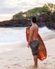 Hawaiian Beachboy Men's Camo Boardshort Skimboard
