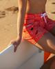 "Coral Wave 5"" Women's Boardshort Sitting"