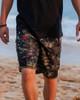 Hawaiian Classic Green Camo Men's Boardshort