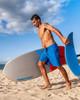 """Core Blue 21"""" Men's Stretch Boardshorts Foil Boarding"""