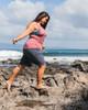"""Maui Mermaid 9"""" Plus-size Boardshorts Ebony"""