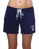 "Aloha Hula Girl Navy Women's 5"" Boardshort"