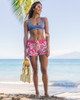 "Women's Waikiki Vintage Hibiscus 2.5"" Boardshort Wide"