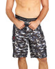 Men's Premium Underwear Modal Cotton Boxer Briefs Camo Wide